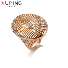 Xuping Fashion Ring Gold Color Plated New Design Charm Style Ring for Women Jewelry Gift for Valentine's Day S64,2-14425
