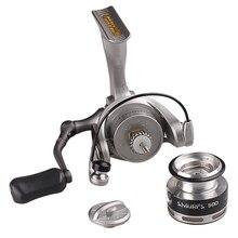 Ryobi 500 800 Spinning Reel 5.2:1 3+1BB Metal Spool Fishing Reel Saltwater Molinete Para Pesca Carretilhas De Pescaria Carp Coil