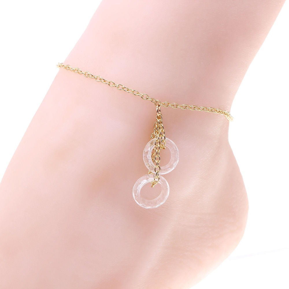 gold anklet designs beads anklets for woman chaine