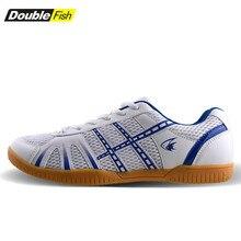 Новое поступление, мужская и женская обувь для настольного тенниса с двойной рыбкой, дышащие Нескользящие кроссовки для пинг-понга 878
