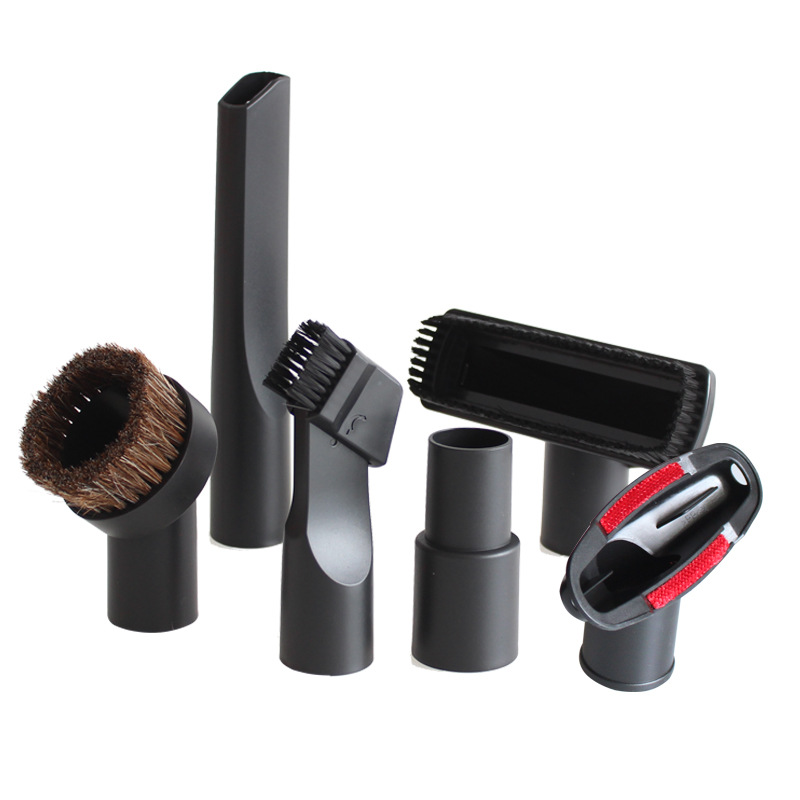6PCS Universal Vacuum Nozzle Suction Brush Head For 32mm & 35mm Vacuum Cleaner Parts Accessories Crevice Tool For Bed Sofa