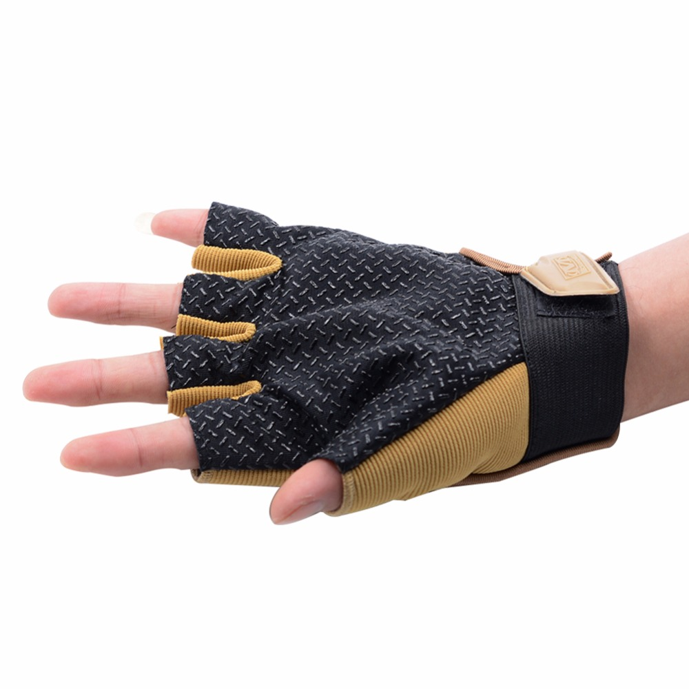 Fingerless gloves climbing - Aliexpress Com Buy Unisex Tactical Gloves Fingerless Army Mittens Antiskid Sports Gloves Abrasion Resistance Climbing Cycling Half Finger Gloves From