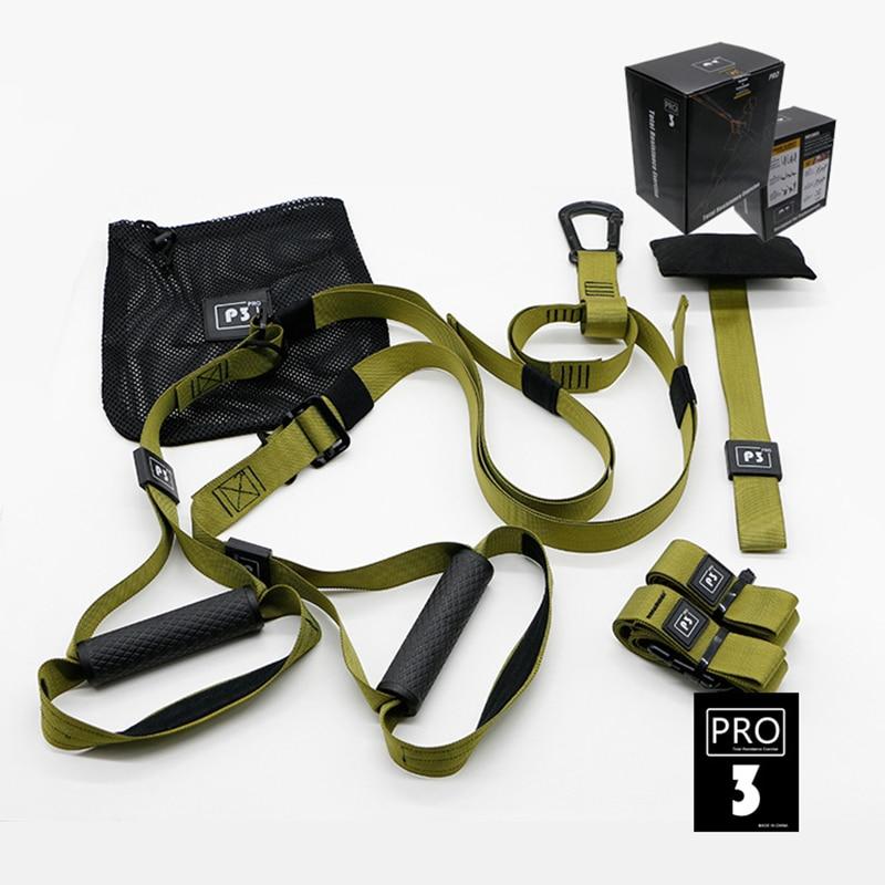 Widerstand Bands Crossfit Sportausrüstung Krafttraining Gürtel Fitness Equipment Frühling Exerciser Workout Suspension Trainer