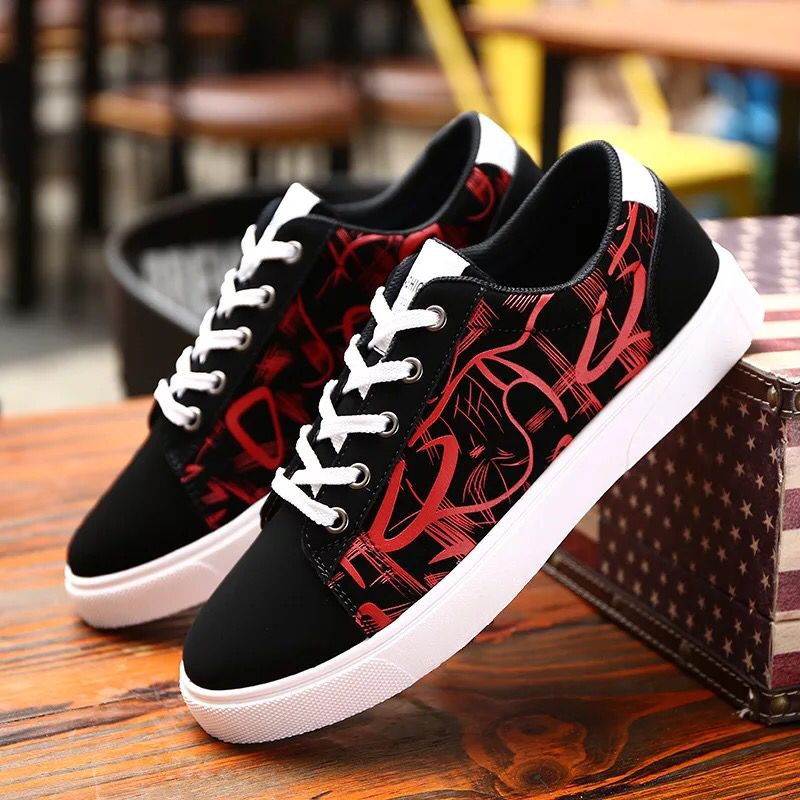 2018 New fashion All Black brand Men lace up walking shoes canvas shoes low top Male Boys casual flats sneakers Suelas shoes