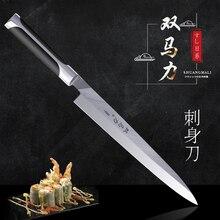 Cuchillas profesionales Sashimi japonesas para Chef, cuchillos de cocina, filetes de pescado, filete de acero inoxidable, cuchillo de Sushi, herramienta de corte de cocina