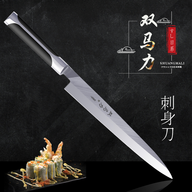 Pro Knives filetes Japanese Sashimi Knife Chef Kitchen Knives Fish Filleting Stainless Steel Fillet Sushi Knife Cook Cutter Tool