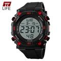 2016 Nova TTLIFE Men Esporte Militar moda Relógios de Luxo Da Marca Digital LED relógios de Pulso pulseira de borracha relogio masculino