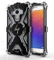 Алюминиевая Броня Тор Случае Для Meizu MX5 MX6 Чехол Вспышки Железный Человек Телефон Случаях Охватывает Защитную Оболочку Кожи мешок