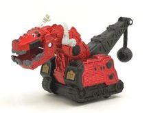 Mainan Dinotrux Dinosaurus Mobil