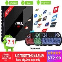 Amlogic S912 3GB RAM 32GB ROM Android TV Box H96 Pro + Plus Quad Core 4K WiFi H.265 Gigabit Lan Mini PC Smart TV Box+I8 Keyboard