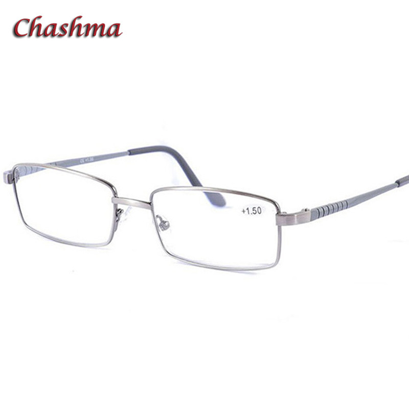 Fashion Eyewear Business Stylish Trend Men Optical Reading Glasses Alloy Spectacles Quality Male Full Frame Quality Eyeglasses