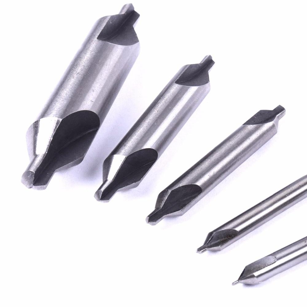 10 PCS A HSS High Speed Steel Center Drill Countersinks 60° Angle Bit Tool 1mm
