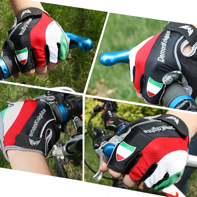 Купить с кэшбэком 2016 Hot Cycling Gloves GEL Bicycle bike Racing Sport Road Mountain MTB Cycling Glove Breathable MTB Road guantes ciclismo luvas