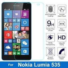 Закаленное стекло для microsoft Lumia 535, две sim-карты, RM-1090, стекло, защита экрана, защитная пленка, Pantalla для Nokia Lumia 535