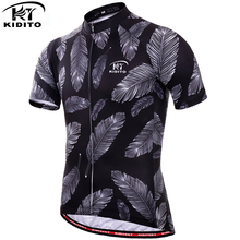 Clothing Short-Sleeve Cycling-Jersey Bicycle-Clothes Anti-Uv KIDITOKT for Man Sportswear