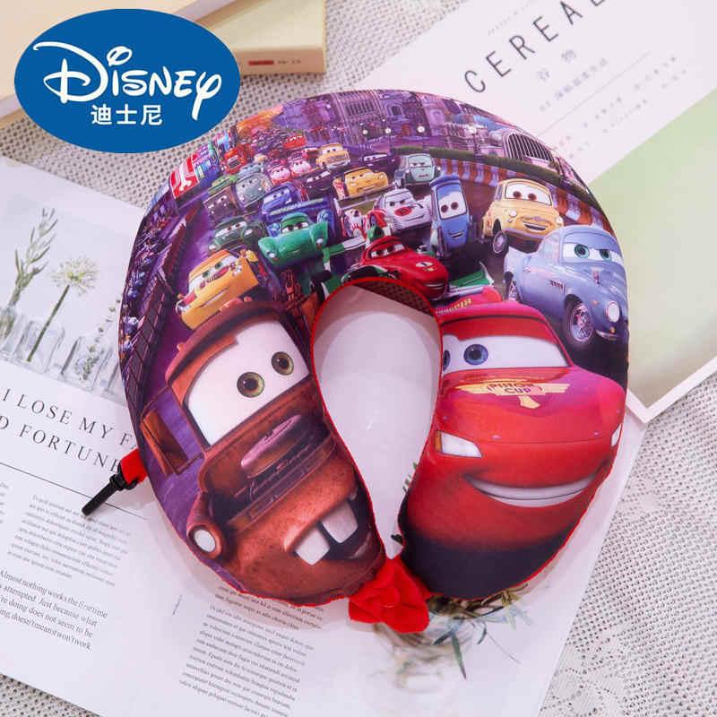 Disney stich Crianças U-em forma de pescoço travesseiro travesseiro da menina do Menino dos desenhos animados Adulto Spiderman McQueen Carros de escritório travesseiro cervical travesseiro de Pelúcia brinquedo