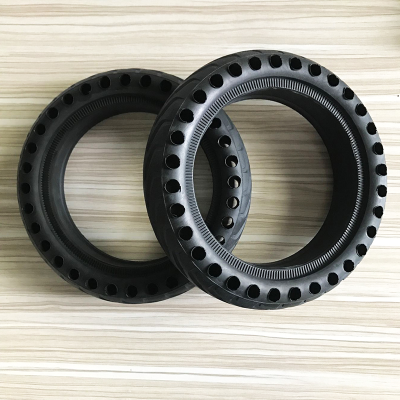 Xiaomi Mijia M365 patineta Scooter neumático agujero sólido neumáticos amortiguador no neumático amortiguación de goma neumáticos ruedas Durable