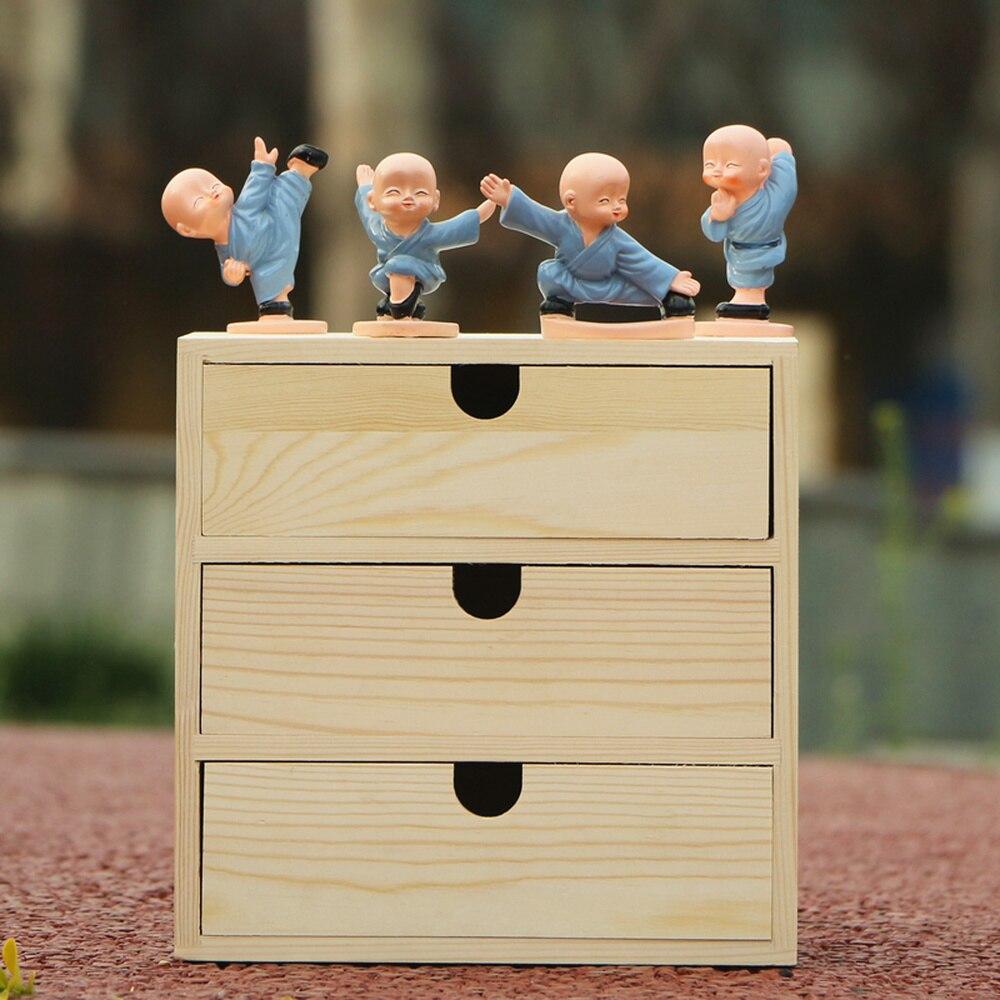 A1 الخشب صندوق تخزين سطح المكتب التجميل خزانة متعددة الطبقات درج مكتب عمل صندوق تخزين wx10251125-في صناديق وعلب تخزين من المنزل والحديقة على  مجموعة 2