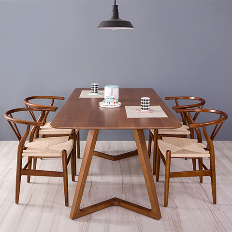 Aliexpresscom Buy 100 pure solid wood dining tables and chairs