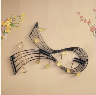 Modern Home Decoration Metal Wall Art Metal Musical Note