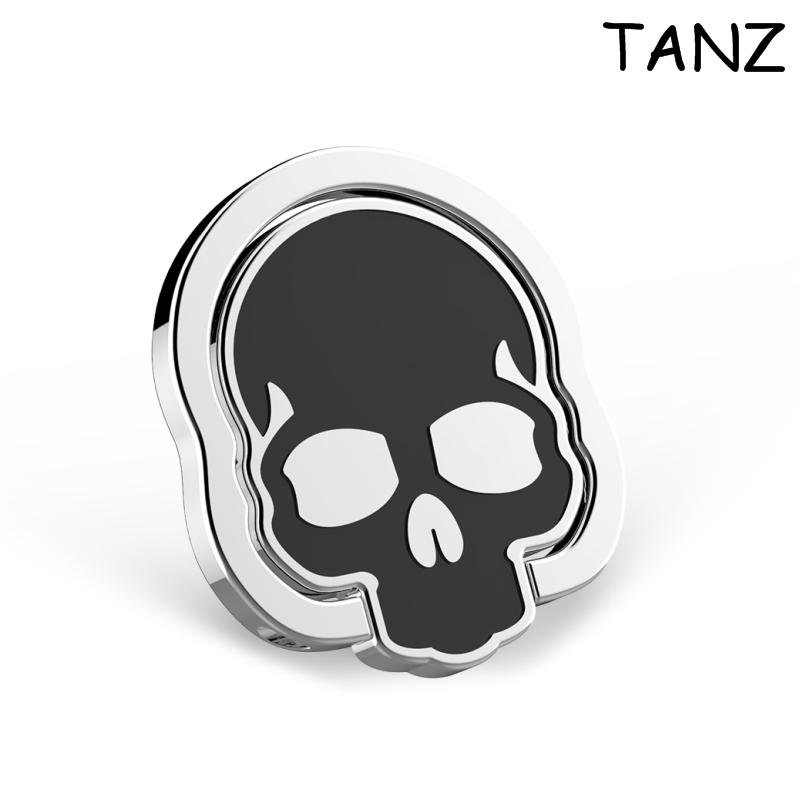 New Universal Skull Mobile <font><b>Phone</b></font> Stand 360 Finger <font><b>Ring</b></font> Desk Stand <font><b>Holder</b></font> Fit For Magnetic <font><b>Car</b></font> Bracket Luxury <font><b>Phone</b></font> <font><b>Holder</b></font> Stand