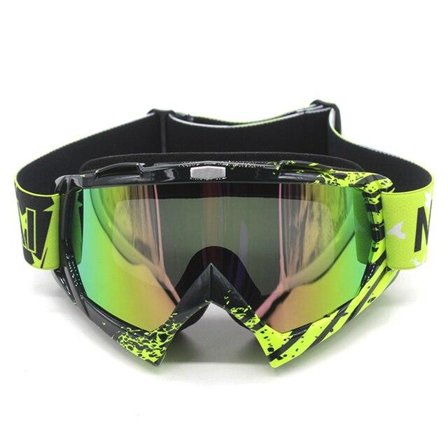 Nordson ao ar livre óculos de proteção da motocicleta ciclismo mx fora de estrada de esqui esporte atv bicicleta da sujeira óculos de corrida para a raposa motocross óculos google 2