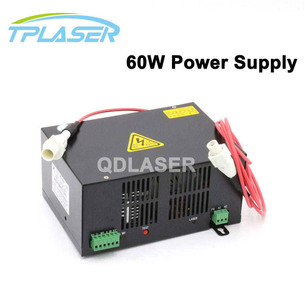60W Laser Power Supply for CO2 Laser Engraving and Cutting Machine60W Laser Power Supply for CO2 Laser Engraving and Cutting Machine