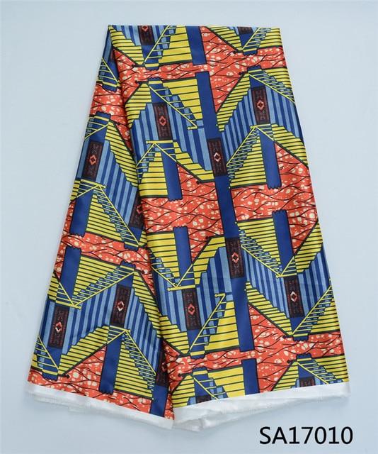 Glatte Nigeria Design Afrikanischen Wachs Muster Satin Stoffe ...