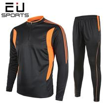 Suit EU Men Sweatshirt Football-Sportswear Futbol Soccer-Training Winter Autumn Running