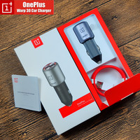 Original Oneplus Warp Charge 30 Car Charger 5V=6A Max For Oneplus 7 Pro Normal QC For Oneplus 3 / 3T / 5 / 5T / 6 / 6T / 7