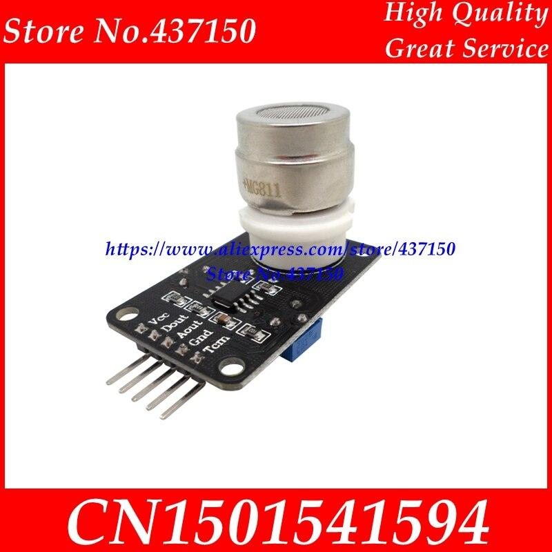 Image 3 - 1 個の X NEW CO2 センサーモジュール MG811 モジュールアナログ出力と TTL 出力 0 2 V 送料無料module adaptermodule gearmodule dsp -