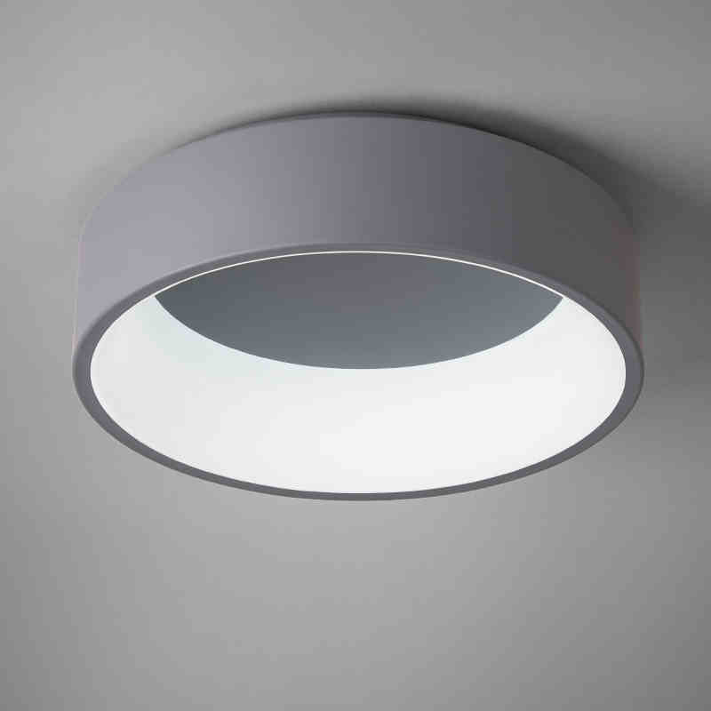 Orderly Round Acrylic Modern Led Ceiling Light For Living Room Bedroom Dining Table Office Meeting Room Black/white Ceiling Lamp Ceiling Lights Lights & Lighting