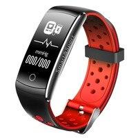 Q8 умный Браслет Bluetooth 4,0 IP68 Водонепроницаемый монитор сердечного ритма вызова/сообщение напоминание смарт-браслет для Android iOS Телефон