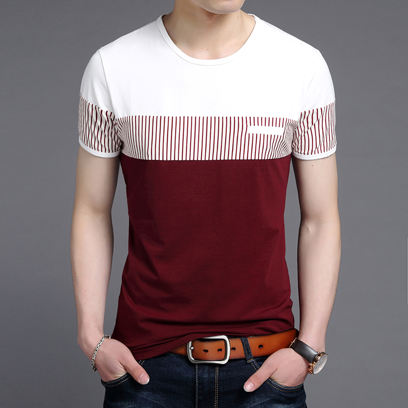 Best Price High Quality Korean Mens New Fashion T Shirt List And Get Free Shipping A225