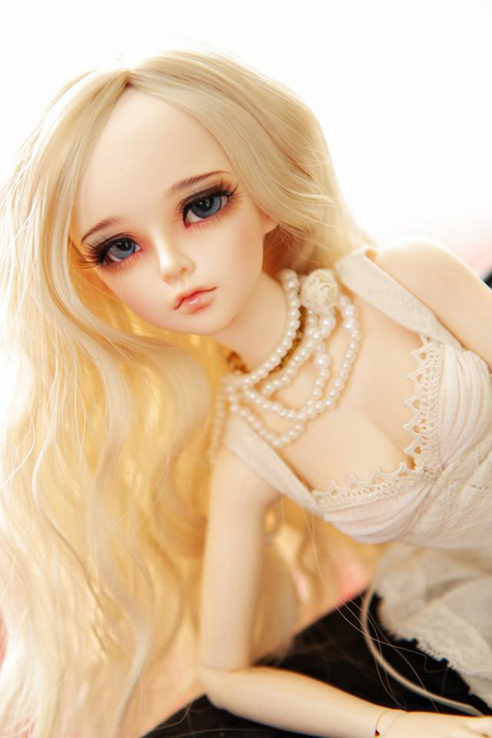 HeHeBJD girl Mirwen body of your choise resin figures face make up or no free shipping