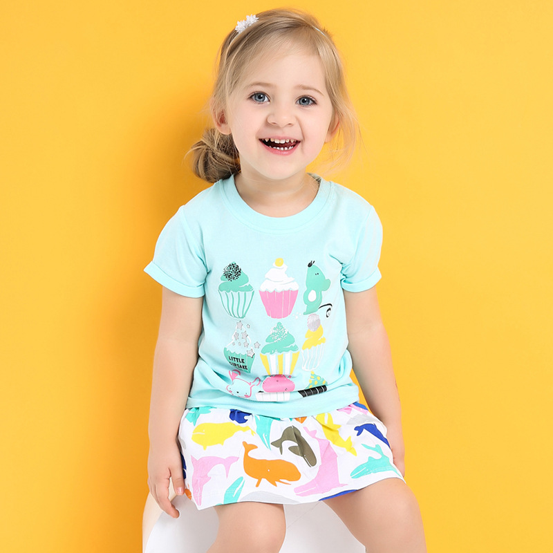 Little Cupcake,Yummy! Class A Cotton Girls tshirts Kids for 18Months to 6T