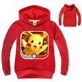 2-10Y Children T-shirts Boys t shirt Long Sleeves Baby Clothing Autumn Pokemon Shirt Kids Gotta Catch Them All! Pjmasks Hoodies