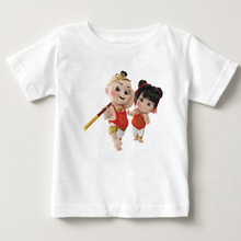 Chinese style childrens T-shirt new years Eve doll boy and girl cute Sun Wukong