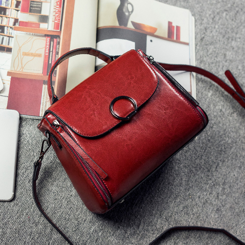 2018 New Shoulder Bag Fashion Brand Europe And The United States PU Female Bag Portable Messenger Bag Tide Five Color europe and the united states classic sheepskin checkered chain tide package leather handbags fashion casual shoulder messenger b