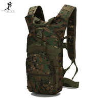 15L Outdoor Riding Backpack Sports Bags 3P Tactical Camouflage Oxford Bicycle Backpacks Women Men Cycling Hiking