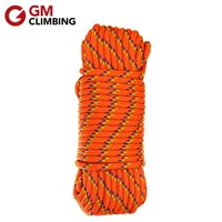 GM CLIMBING Rope 10mm Double Braided Safety Rope Accessory Cord Rescue Caving Survival Arborist Mountaineering Equipment