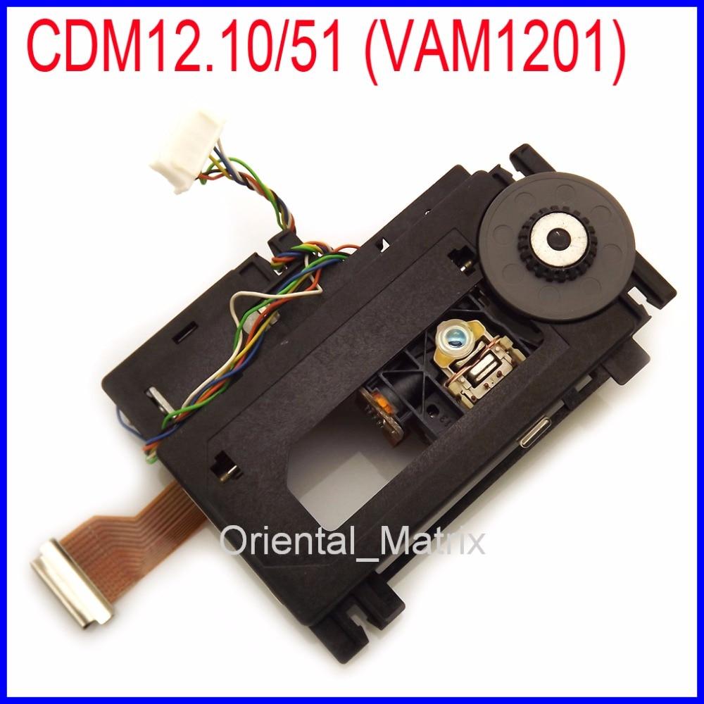 CDM12.10/51 (VAM1201) CDM12.1 Laser Lens With Mechanism Lasereinheit For Marantz CD-63 CD-53 CD-43 CD-67