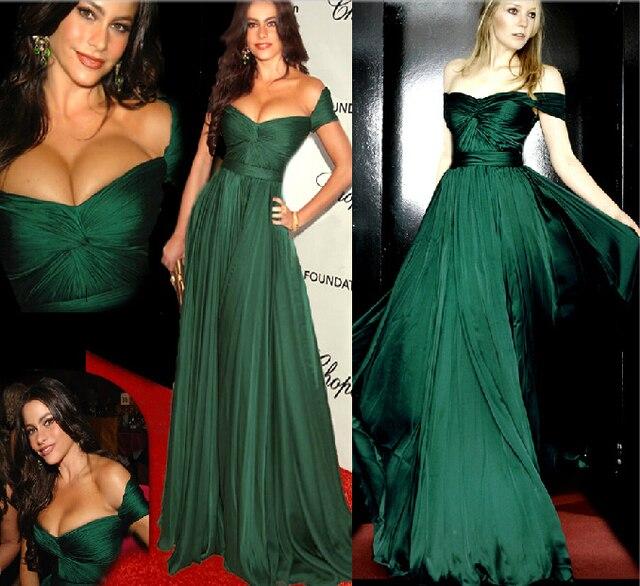 Vestidos verde esmeralda para fiesta