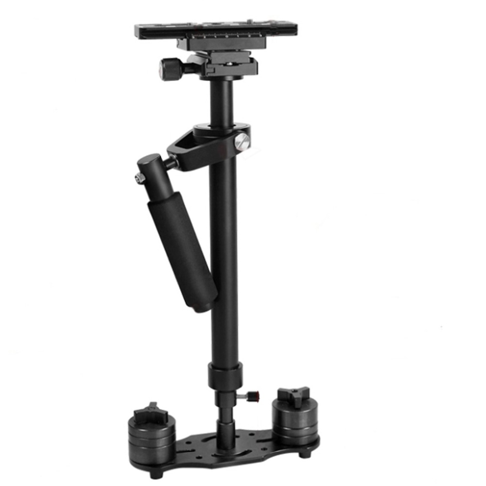 цена YELANGU S60N Aluminum Handheld Stabilizer Steadicam for Camcorder DV Video Camera DSLR