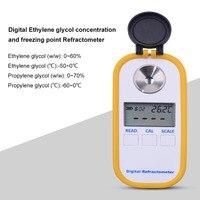 Portable Digital Display DR603 B / Propylene Glycol Concentration Refractometer Freezing Point Meter