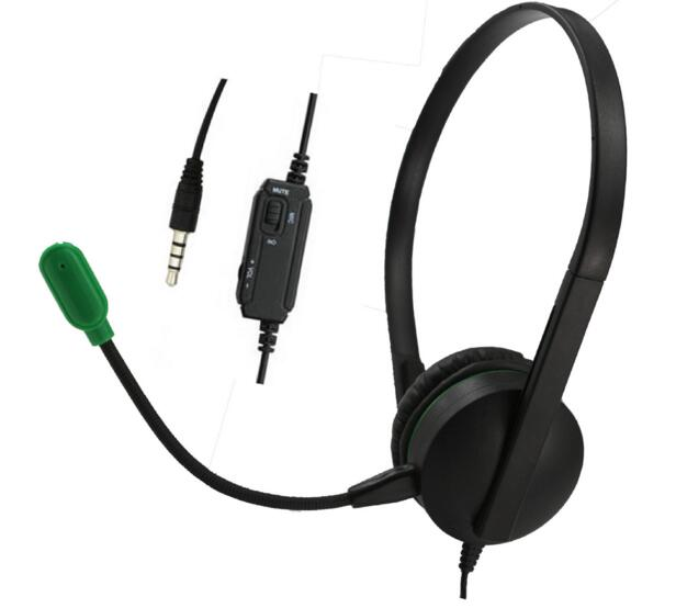 For PS4 PlayStantion 4 Xbox One PC Phone 1.2M 3.5mm Plug Headphones Earphone Gaming Headset Earpiece With Microphone Speaker