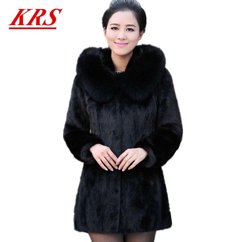 2017 hiver nouvelle imitation vison manteau de fourrure. Black Bedroom Furniture Sets. Home Design Ideas