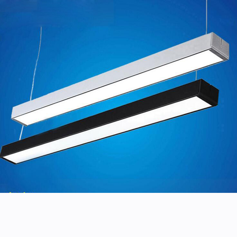 Office Lights Hanging Line Light Can Be Stitched Office Line Lamp Modern  Simple Office Chandeliers Bar
