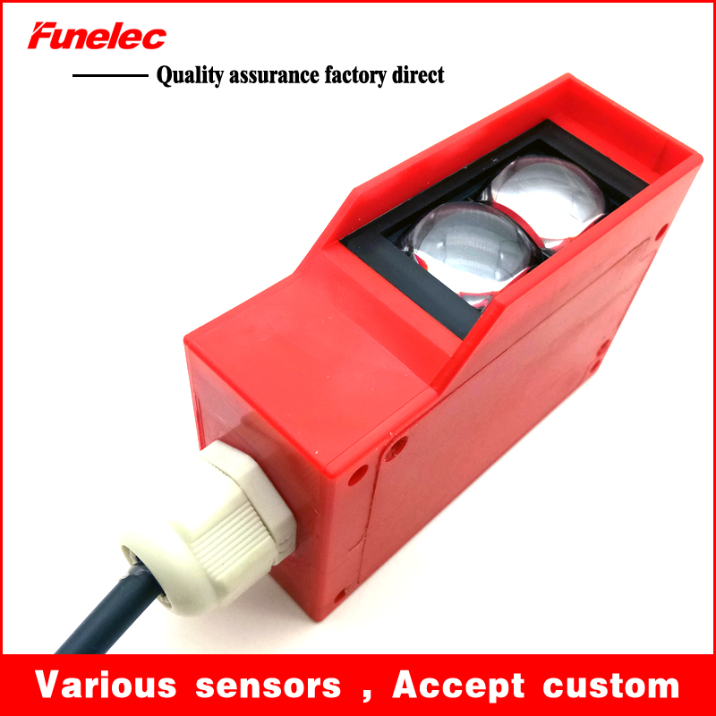 Diffuse mode photoelectric sensor