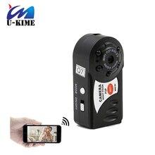 Q7 мини dvr wi-fi беспроводной ip видеокамеры video recorder камеры инфракрасного ночного видения камера motion обнаружения встроенный микрофон